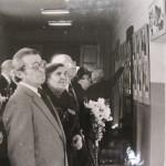 Відкриття Галереї Героїв 167 сд, 1984 р.