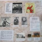 Перший стенд музею «Батьківщина-мати кличе»