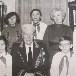 В гостях у командира дивізії-3 Гречкосія І.С., Москва, 1984 р.